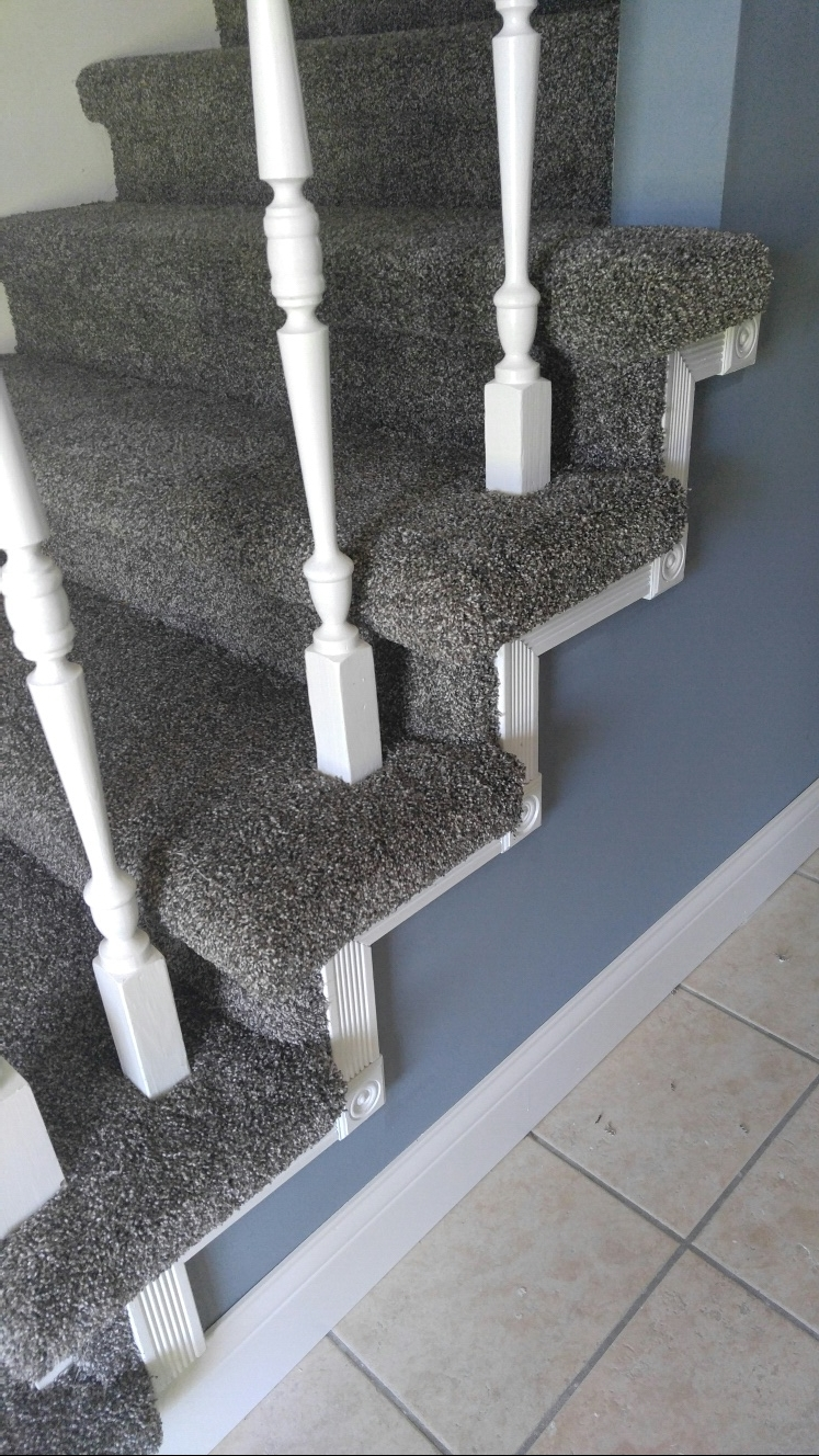 Professional workmanship with attention to detail makes this staircase a showpiece!